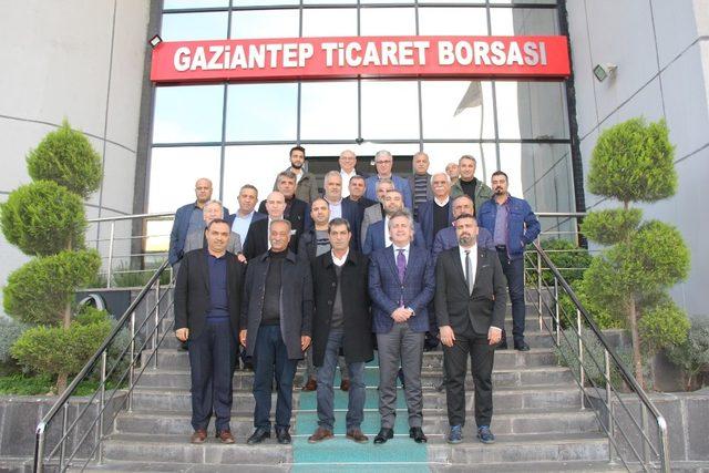 ABÜDER, ilk ziyaretini Gaziantep Ticaret Borsasına gerçekleştirdi